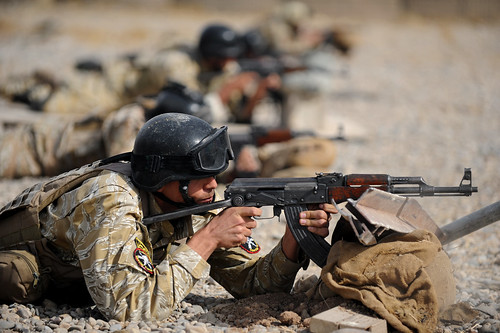 US, Iraqi forces train [Image 3 of 13]