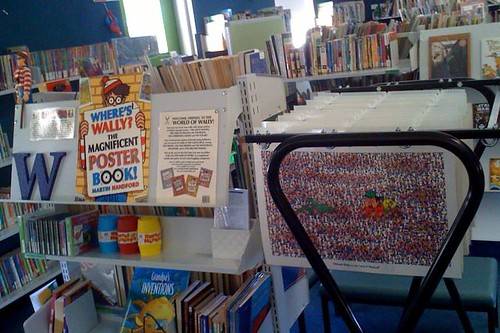 Where's Wally? poster rack