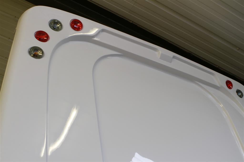 Fibreglass Helios new rear panel for sale