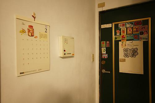 手繪的月曆