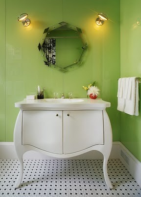 green+bathroom