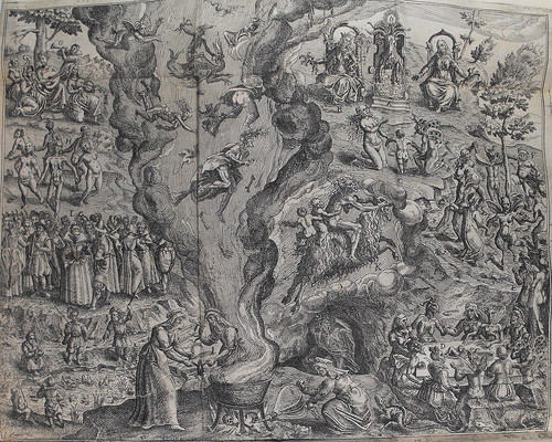 Engraving from Tableau de l'inconstance des mauvais anges et demons
