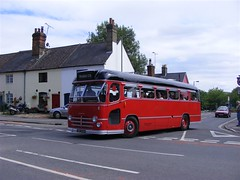 BMMO C5 Coach (PD3.) Tags: park uk red england bus water buses vintage day rally cress july railway running hampshire line preserved 18 alton mid 07 midland c5 2010 psv pcv anstey watercressline hants 780 gha midlandred bmmo 780gha