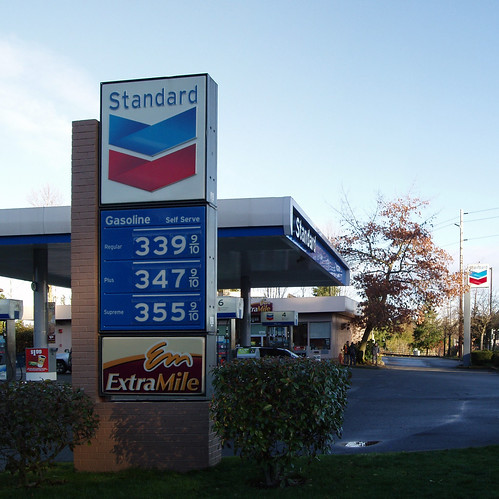 Eastgate Standard (Chevron) Station - Bellevue WA