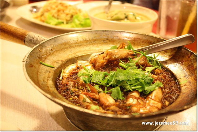 Chok Dee Thai @ Burmah Road - Claypot Prawn With Glass Noodles