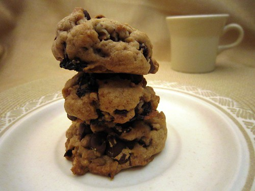Cookie Tower and Coffee Cup