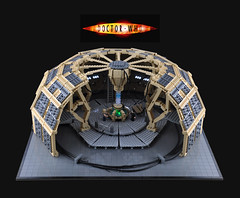 Doctor Who - LEGO TARDIS Console Room (Xenomurphy) Tags: lego who room doctor doctorwho tardis console tennant eccleston