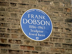 Photo of Frank Dobson blue plaque