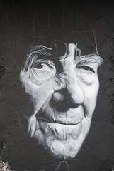Stéphane Hessel painted portrait - Indignez-vo...