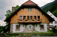 Drubba Clocks (Carabella Murals/ Jessica L. Sherlock) Tags: clock germany mural chalet quaint blackforest cuckooclock drubbaclocks