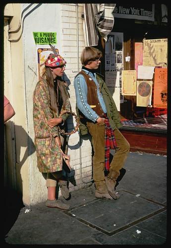 Haight Street Hippies - San Francisco, California