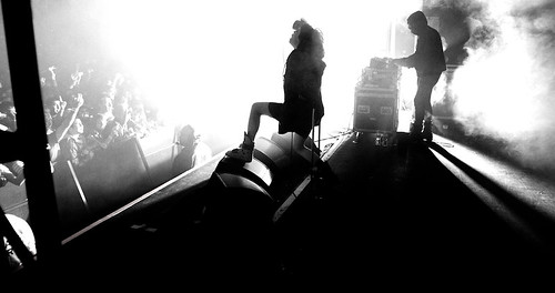 Crystal Castles perform live in Pomona, California by Debi Del Grande