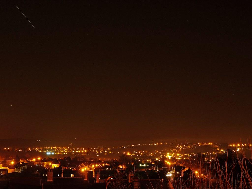23935 - ISS over Pontarddulais