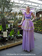 Stilt Walker In Fairy Costume