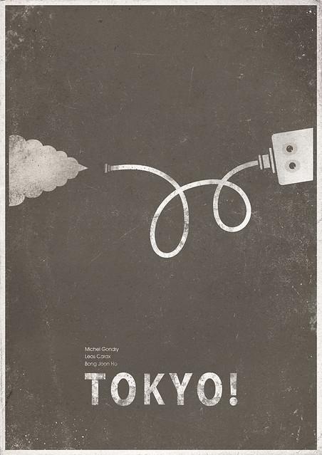 Tokyo! minimalist poster 1