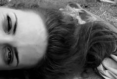 (jn is clumsy) Tags: red sun girl beautiful smile face grass hair eyes friend hand head ground pic francesca occhi bbc balla nic sole amici rosso prato viso ragazza coi capelli volto cinghiali