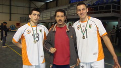 hamid zaoui avec les joueurs du mouloudia (m_bachir-   -) Tags: sport algerie om handball medea alger     akbou  olympiquedemedea ouldramoulmohamed   naditalger mouloudiaalger groupepetroliersonatrach