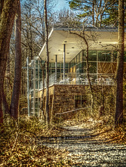 Nature Center at Killens Pond - Tonemapped from a single raw