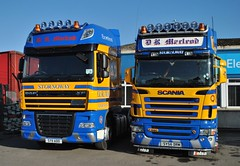 SY 11 ADO and SY 56 DRM (Jack,Shepherd) Tags: inverness scania stornoway r580 dafxf drmacleod 11plate