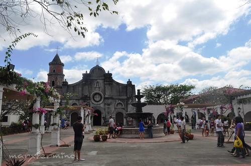 Barasoain Church Replica and Fountain