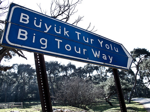 Big Tour Way sign