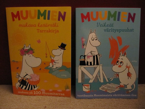 muumiem coloring book