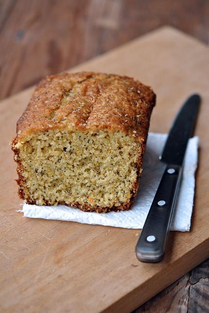 1.Cake con arance e semi di papavero