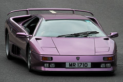 "Lamborghini Diablo SE30 ""MR 1710"", Admiralty, Hong Kong (Daryl Chapman's - Automotive Photography) Tags: auto china road car canon point hongkong lights cool italian highway automobile asia purple footbridge anniversary quality wheels wide wing mirrors fast plate super special 1993 daryl bumper badge 7d diablo 30th expensive rims panning limited edition lamborghini rare supercar spotting sar licence spoiler intake chapman rhd se30 100400l worldcars mr1710 sharpluxury"