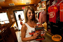 (originalhooters) Tags: smile menu tampa florida hooters owl merchandise fl clearwater hootersgirls originalhooters meetahootersgirl allisoncurtis