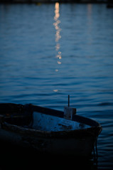 Kind of Blue (Federica Mu ) Tags: sea summer boat mood bokeh 85mm malta poesia f18 malinconia sera milesdavis pascoli kindofblue
