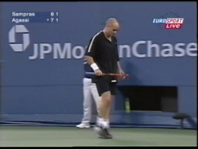 Andre Agassi by tennis buzz