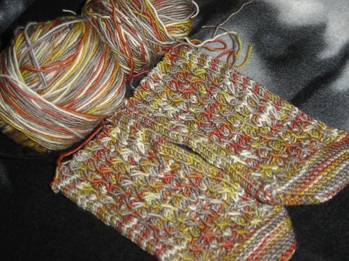 Solstice Slip socks with BMF in Bag Lady