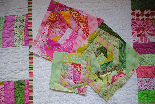 March blocks for Bronwyn
