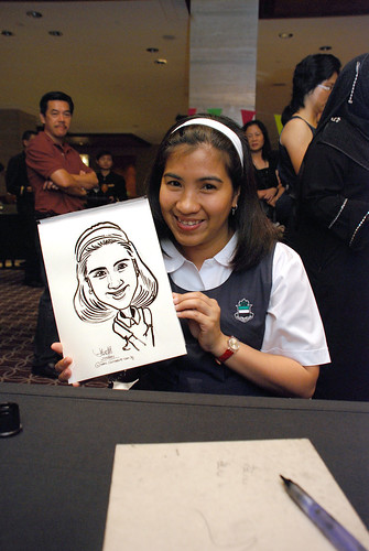 Caricature live sketching for Swire Pacific Offshore & The China Navigation Company Pte Ltd Annual D&D - 3