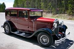 1929 Dodge Brothers Six DeLuxe Sedan (Dean Gulstad) Tags: summer usa unitedstates august yellowstonenationalpark northamerica wyoming 2010