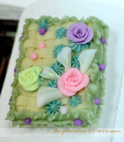 天使媽媽蛋糕皂教學台中 0013