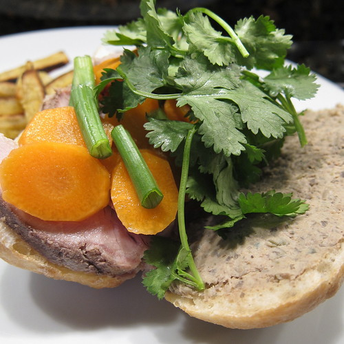 Banh Mi with homemade pate