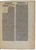 Rubrication in Institoris, Henricus and Sprenger, Jacobus: Malleus maleficarum