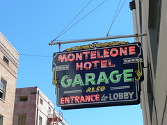 New Orleans, LA Monteleone Hotel garage neon sign (army.arch) Tags: sign nhl hotel la louisiana neon garage neworleans historic frenchquarter historicpreservation historicdistrict monteleone nationalhistoriclandmark nationalregister nrhp vieuxcarré