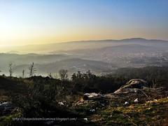 Pontevedra desde monte la Fracha