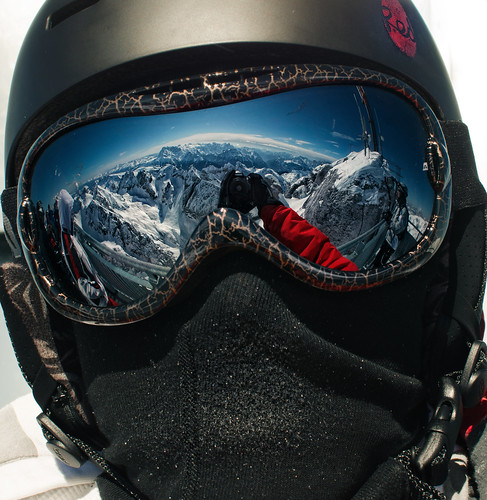 Selfportrait at 3265 meters (Marmolada)