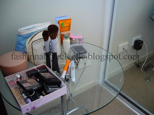 My makeup table