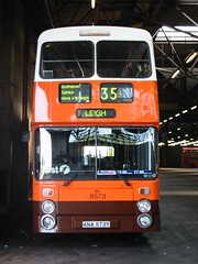 104-0405_IMG (radclifferaz) Tags: bn busgarage busdepot greatermanchestertransport firstmanchester gmbuses leylandatlantean boltondepot greatermanchesterbuses boltongarage