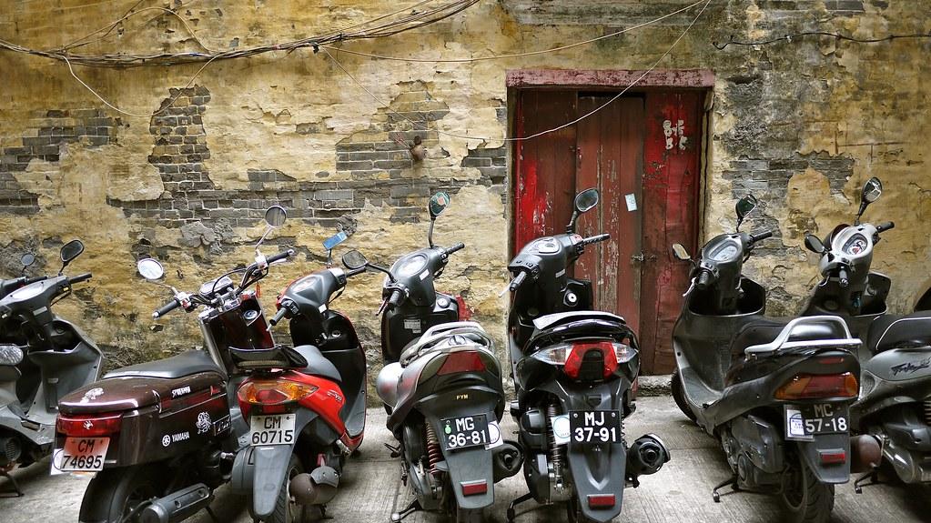 Macau; City of Mopeds