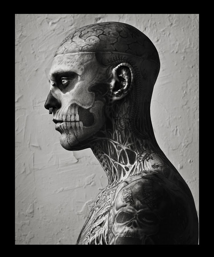 Hard To Be Passive by Mariano Vivanco and Nicola Formichetti Vogue Hommes Japan Magazine 2011 Rick Genest 5