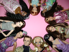 Happy B-Day 50th Ken!!! (Tiffany Tran) Tags: pictures nikki ken barbie lea teresa kayla aa steffie
