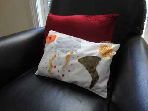 the weather pillow