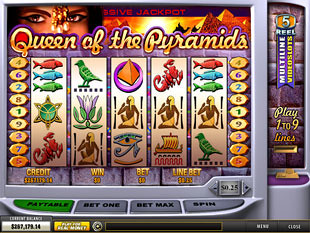 Queen of the Pyramids slot game online review
