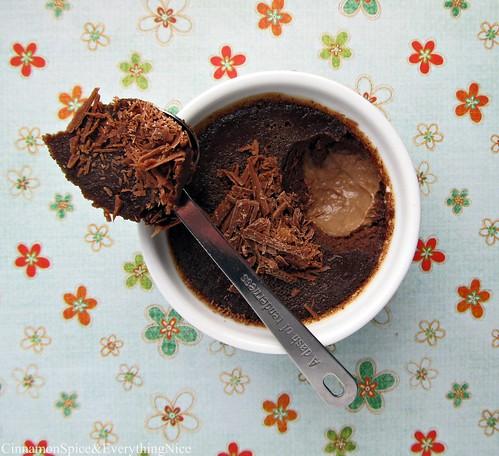 Nutella Pots de Crème (Baked Custard) | Cinnamon-Spice ...