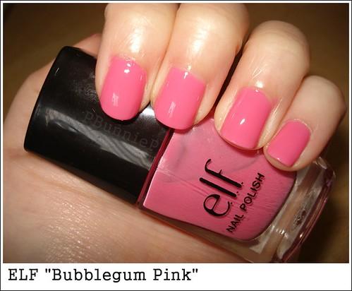 """ELF nailpolish """"Bubblegum Pink"""""""